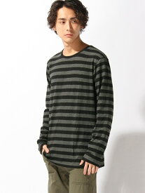 【SALE/40%OFF】nudie jeans nudie jeans/(M)Orvar_LS-Tシャツ ヌーディージーンズ / フランクリンアンドマーシャル カットソー Tシャツ ブラック ネイビー【送料無料】