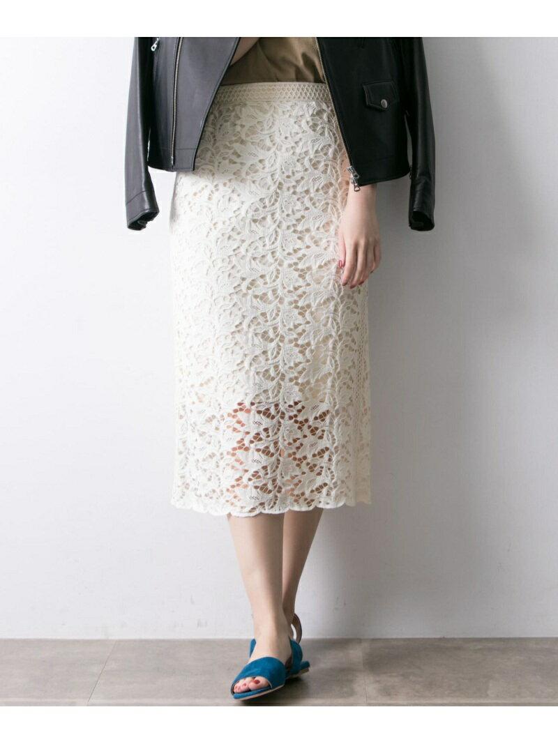 【SALE/30%OFF】URBAN RESEARCH カラーレースロングタイトスカート アーバンリサーチ スカート【RBA_S】【RBA_E】【送料無料】