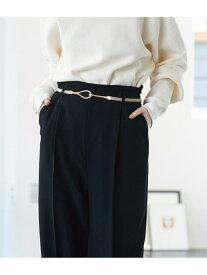 【SALE/30%OFF】ViS 10mm幅ドロップフックスライドベルト ビス ファッショングッズ ベルト ベージュ ブラック ブラウン
