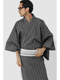 ikka EC 麻混紳士浴衣セット 2020 イッカ その他 福袋 ブラック グレー ホワイト【送料無料】