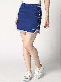 Descente golf (W)TCツイルハイパワーストレッチスカート(インナーパンツ付き) デサントゴルフ スカート ミニスカート ネイビー ブラック【送料無料】