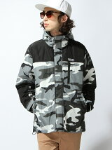 CAMO MOUNTAIN PARKER JACKET