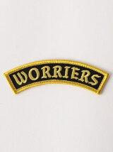 <WORLD FAMOUS ORIGINAL>WORRIERS ミニワッペン