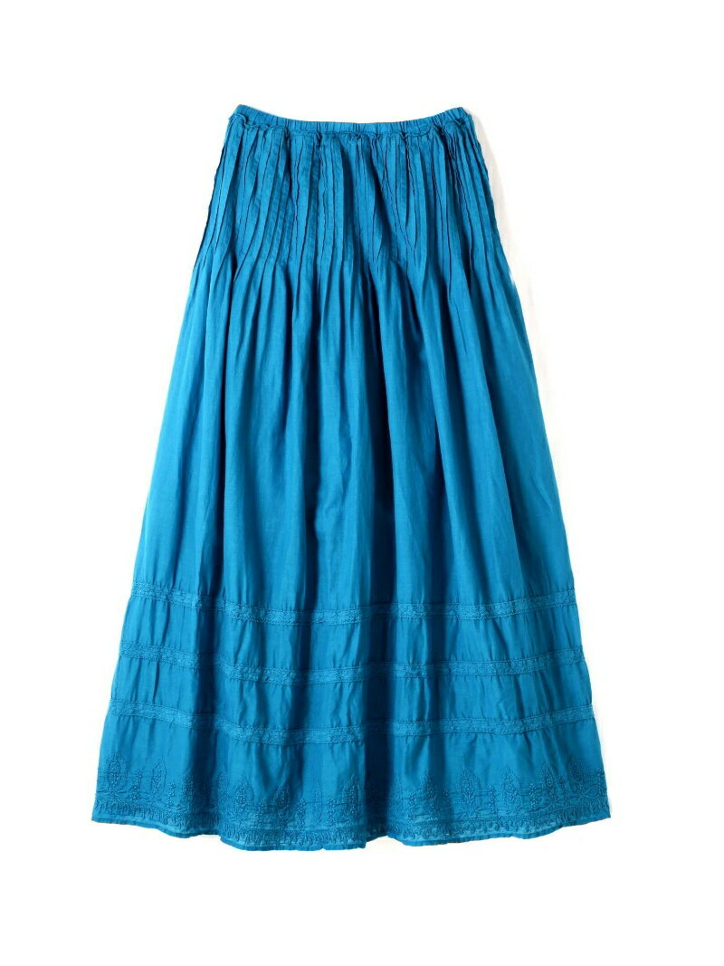 【SALE/60%OFF】ROSE BUD エスニック刺繍ロングスカート ローズバッド スカート【RBA_S】【RBA_E】【送料無料】