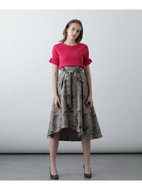 アブストラクトジャガードスカート