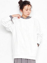 Raglan Sleeves Sweat