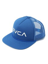 (M)RVCA FOAMY TRUCKER キャップ
