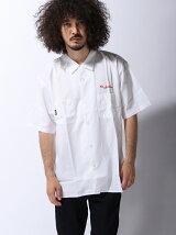 COLLARS/(M)Bernard Jenkinsオープンカラーシャツ