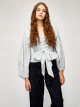 WAIST BAND BLOUSE