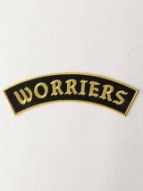 <WORLD FAMOUS ORIGINAL>WORRIERS ワッペン