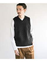 GEOTROWARK×URBAN RESEARCH 別注FISHERMAN V NECK VEST