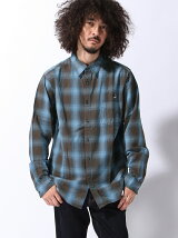 COLLARS/(M)ROOSTER&PIGビンテージチェックシャツ