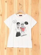 ガールプリント990Tシャツ