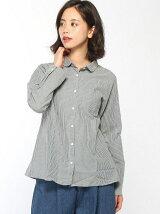 綿麻丸衿シャツ