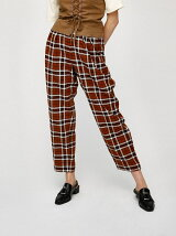 PLAID CHECK PANTS