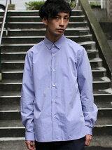 L&HARMONY/(M)タイブライターギャザーシャツ