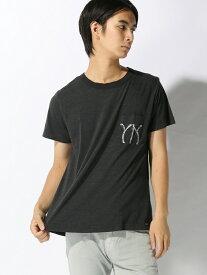 【SALE/30%OFF】YANUK YANUK/(M) Tシャツ /57281505 ディヴィニーク カットソー Tシャツ ブラック ホワイト【送料無料】