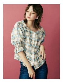 【SALE/63%OFF】dazzlin チェックシャツ ダズリン シャツ/ブラウス シャツ/ブラウスその他 ホワイト イエロー ブルー