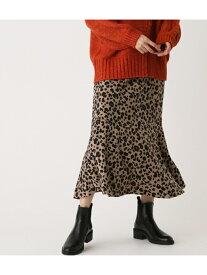 AZUL by moussy LEOPARDMERMAIDSKIRT/レオパードマーメイドスカート アズールバイマウジー スカート スカートその他 ベージュ ブラック【送料無料】