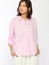(W)ストライプオーバーサイズシャツ・ブラウスJP(日本限定)