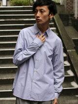 L&HARMONY/(M)ストライプギャザーシャツ