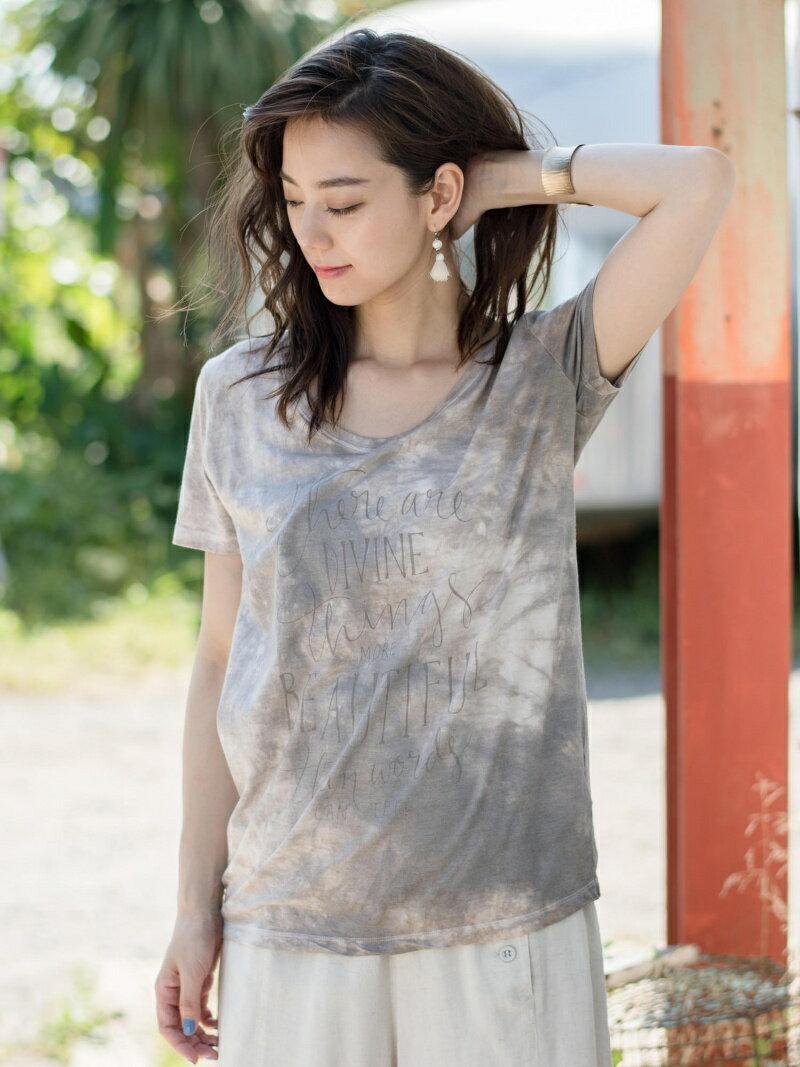 【SALE/20%OFF】綿モダール2色ムラDIVINE Beautiful Tシャツ    カットソー【RBA_S】【RBA_E】【送料無料】