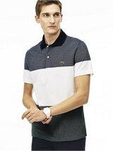 (M)カラーブロックポロシャツ (半袖)