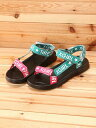 X-girl Stages LOGO STRAP SANDAL エックスガールステージス【送料無料】