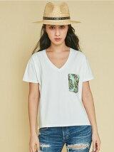 original pineapple ポケットTシャツ