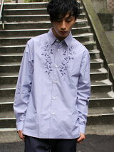 L&HARMONY/(M)Asami Hattori フラワープリントシャツ