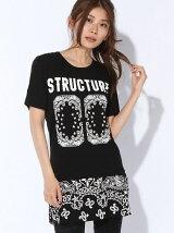 バンダナプリントビッグTシャツ