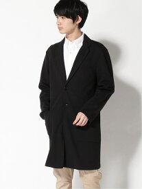 【SALE/40%OFF】WEGO WEGO/(M)ポンチチェスターコート ウィゴー コート/ジャケット チェスターコート ブラック ベージュ