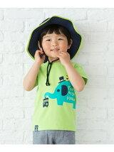 アニマル&ロゴカラフルTシャツ