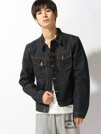 nudie jeans nudie jeans/(M)Kenny_デニムジャケット ヌーディージーンズ / フランクリンアンドマーシャル コート/ジャケット デニムジャケット ネイビー【送料無料】