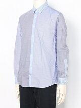 (M)ミックスストライプシャツ