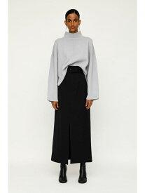 SLY FRONT SLIT BELT HW スカート スライ スカート スカートその他 ブラック ブラウン【送料無料】