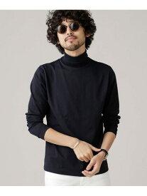 【SALE/20%OFF】nano・universe AntiDrySkinタートルネック ナノユニバース カットソー Tシャツ ブラック グレー ホワイト