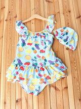 FRUITS PRINT SWIMSUIT