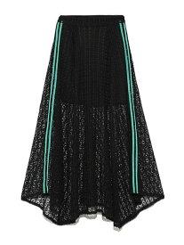 【SALE/45%OFF】SNIDEL サイドラインレースSK スナイデル スカート スカートその他 ブラック ピンク ホワイト【送料無料】