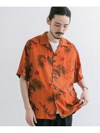 【SALE/60%OFF】URBAN RESEARCH TWO PALMS×URBAN RESEARCH 別注garment dye aloha アーバンリサーチ シャツ/ブラウス シャツ/ブラウスその他 オレンジ ベージュ ネイビー グレー【送料無料】