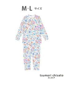 【SALE/10%OFF】tsumori chisato SLEEP (W)ツモリチサトスリープ パジャマ ロング袖・ロングパンツ ツモリチサトスリープ インナー/ナイトウェア インナー/ナイトウェアその他 ホワイト ピンク【送料無料】