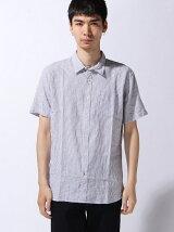 (M)メンアサハンソデシャツ