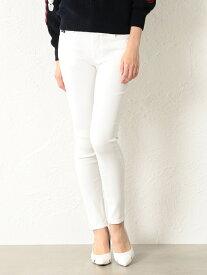【SALE/30%OFF】GUILD PRIME 【LOVELESS】WOMENホワイトスキニーパンツ ラブレス パンツ/ジーンズ フルレングス ホワイト【送料無料】