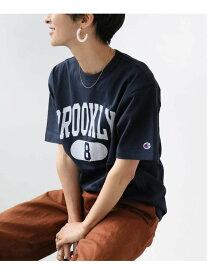 JOURNAL STANDARD relume 【CHAMPION/チャンピオン】 SMU 20s/1 USA Cotton Jersey:Tシャツ◆ ジャーナル スタンダード レリューム カットソー Tシャツ ネイビー ホワイト ベージュ