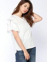 機能素材袖フレアTシャツ