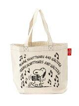 MUSIC 刺繍トートバッグ
