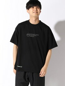 【SALE/33%OFF】BROWNY VINTAGE BROWNY VIN/(M)転写シートプリントBIGT(S) ウィゴー カットソー Tシャツ ブラック ベージュ ホワイト