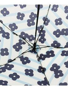 フラワーボーダー柄 折りたたみ傘