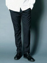 T/W TOROPICAL TAPERED ONE TUCK PANTS