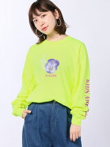CHEEKY PANSY L/S BIG/Tシャツ